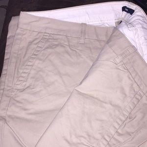 Women's cotton gap pants.